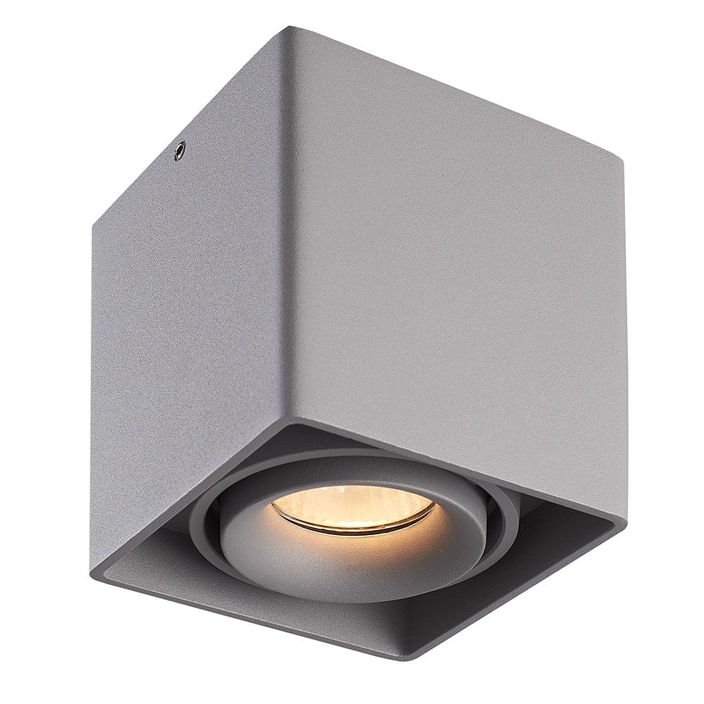 LED PLAFONDLAMP ESTO GRIJS IP20