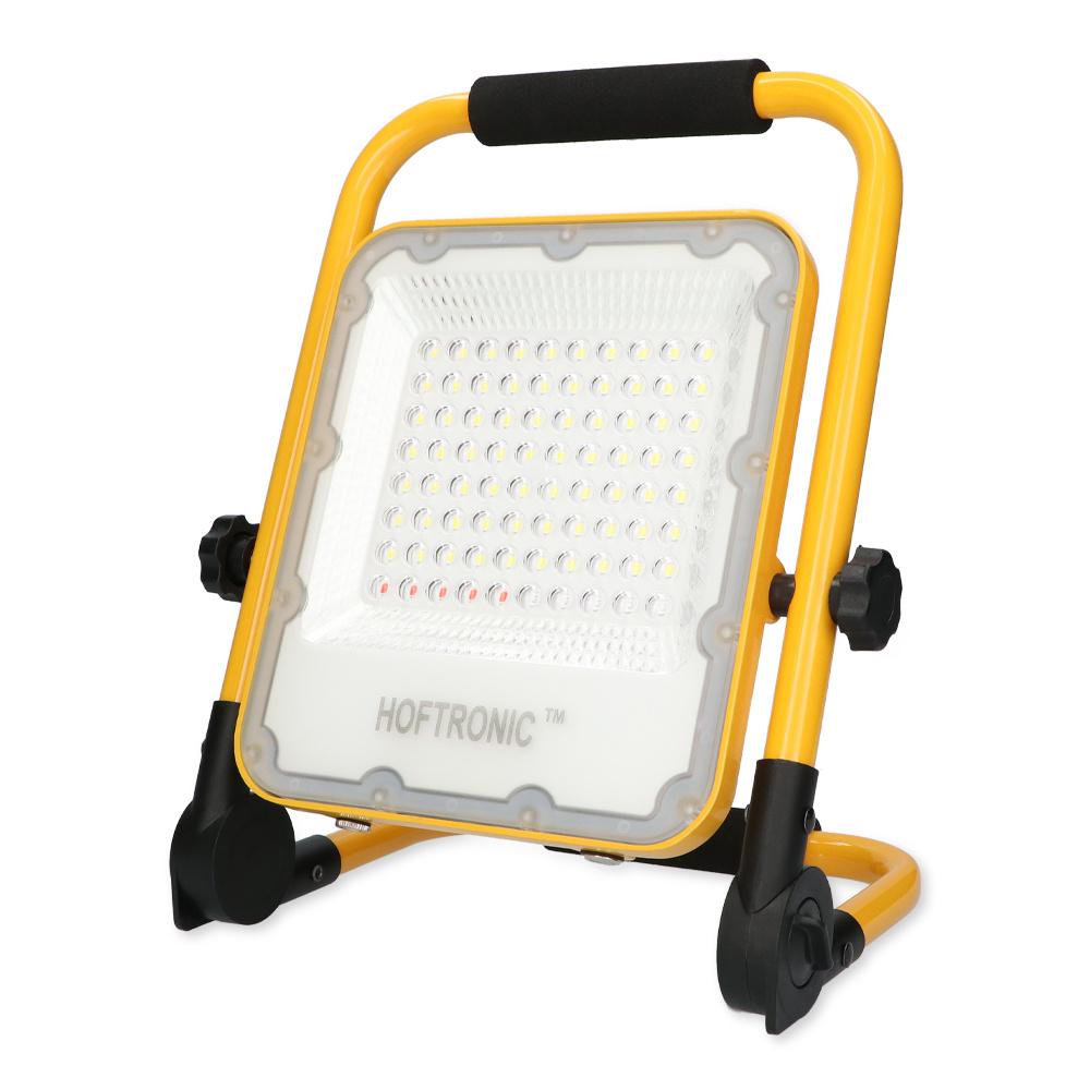 LED BOUWLAMP 100W OP ACCU IP65