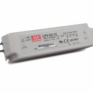 LED TRANSFORMATOR 12V 36W NIET DIMBAAR IP67