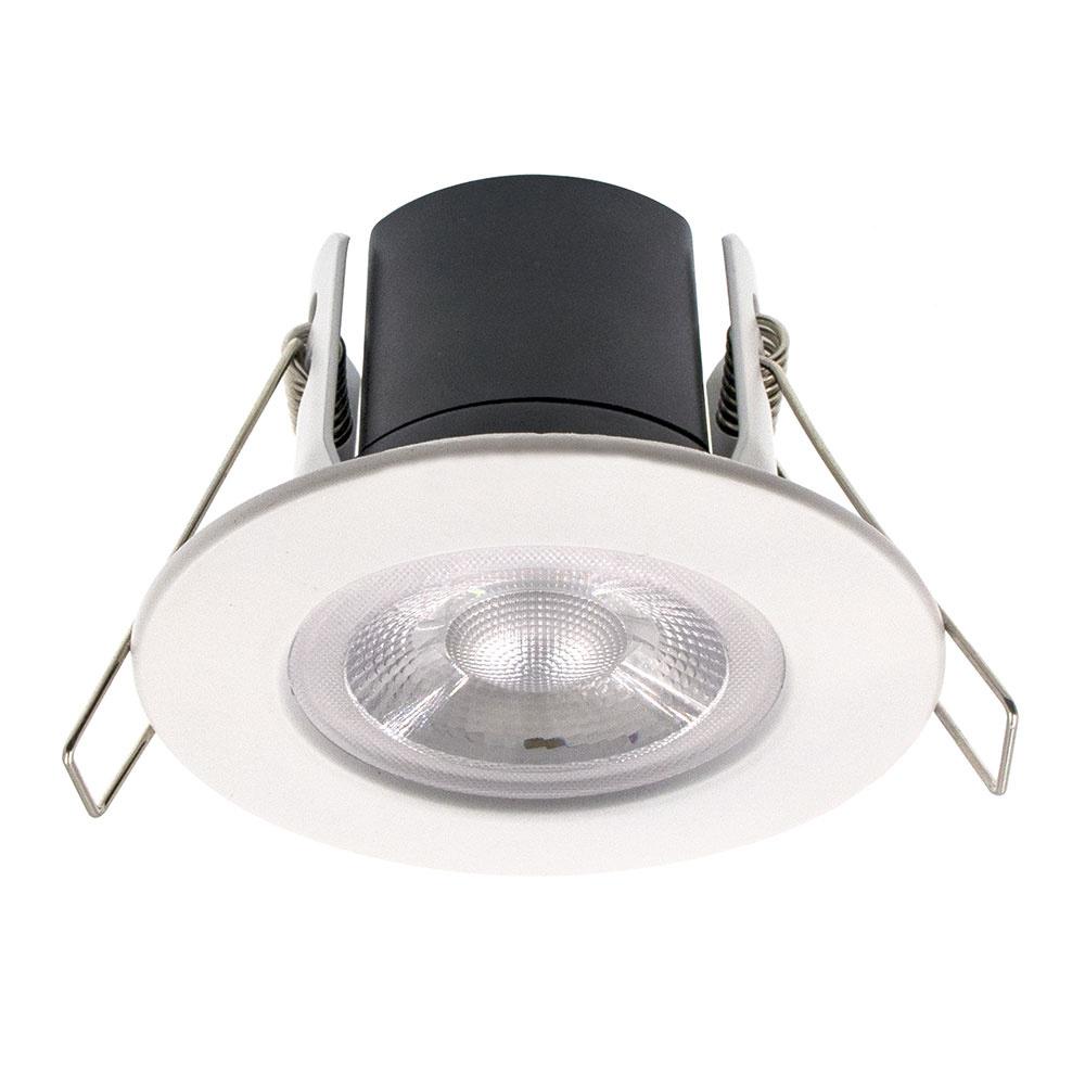 LED INBOUWSPOT NOLA 5W IP65 WIT DIMBAAR