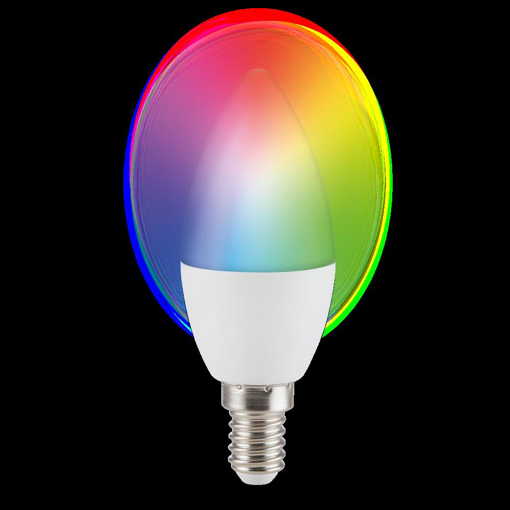 E14 C37 SMART LED LAMP RGBWW 5.5W