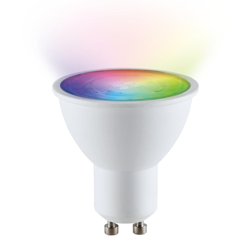 GU10 SMART LED LAMP RGBWW 5.5W 120°