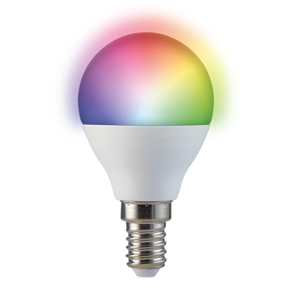 E14 SMART LED LAMP RGBWW 5.5W