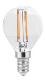 TWILIGHT LED FILAMENT G45 4-40W E14 5 JAAR GARANTIE