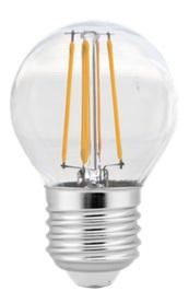 TWILIGHT LED FILAMENT G45 4-40W E27 5 JAAR GARANTIE