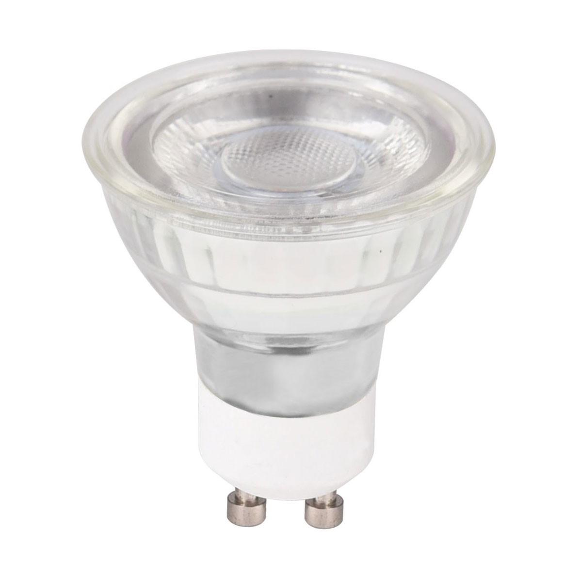 TWILIGHT LED LAMP GLASS  5-40W GU10 DIM 5 JAAR GARANTIE
