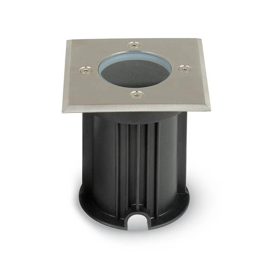 LED GRONDSPOT VIERKANT IP67 RVS